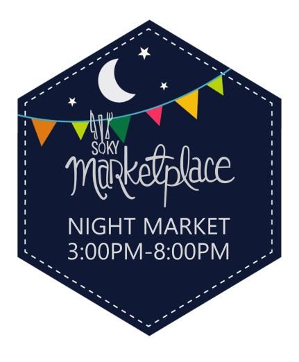 night market logo